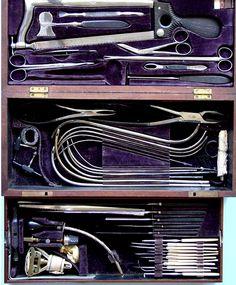 Civil war surgeon kit