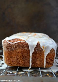 This dense homemade Grapefruit Olive Oil Pound Cake recipe has a light citrusy flavor only achievable from fresh Ruby Red Texas Grapefruit! Grapefruit Cake, Pound Cake Recipes, Pound Cakes, Olive Oil Cake, Banana Bread, Cooking Recipes, Homemade, Eat, Kitchen