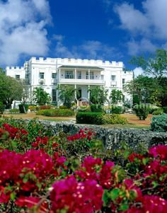 This is where I stayed while in Barbados...Sam Lord's Castle...the actual plantation of an actual pirate! It was amazing! Unfortunately I just learned most of it was destroyed by fire in 2010.....