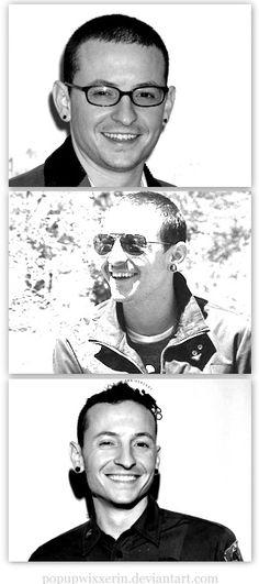 Adorable Chester Bennington - Linkin Park