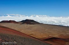 Mauna Kea–Hawaiian for White Mountain–stands majestically above the clouds on the Big Island of Hawaii. Description from hawaiipictureoftheday.com. I searched for this on bing.com/images
