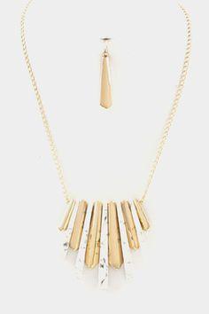 Ivory Bar Necklace