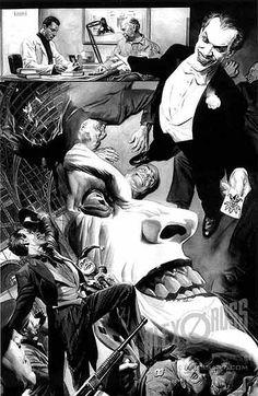 Batman Sketch 7 by Alex Ross