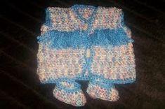 Easy Newborn Crochet Vest