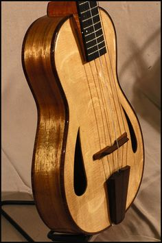Ko'olau Archtop Ukulele - I got excited about this and then found out it was $7,000