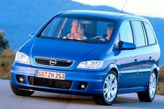 Review Opel Zafira OPC Turbo 2.0 (2004)