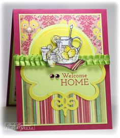 Hello Lucious - On the Porch Cindy lawrence blog  http://onehappystamper.typepad.com/stamping_inspirations_wit/# - Used: Spellbinders Twisted Metal Tags and Accents