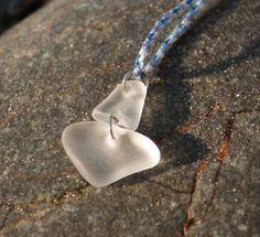 Sea glass jewelry Sea glass sailboat Natural sea glass