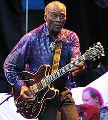 Chuck Berry, a pioneer of Rock and Roll music!