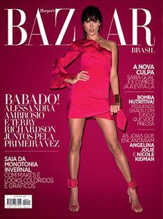 Alessandra Ambrosio for Harper's Bazaar Brazil - June 2013