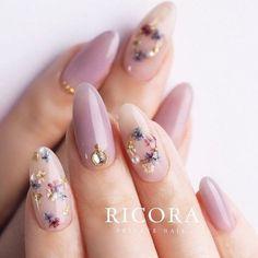 Asian Nail Art, Asian Nails, Korean Nail Art, Korean Nails, Hair And Nails, My Nails, Kawaii Nails, Japanese Nails, Minimalist Nails