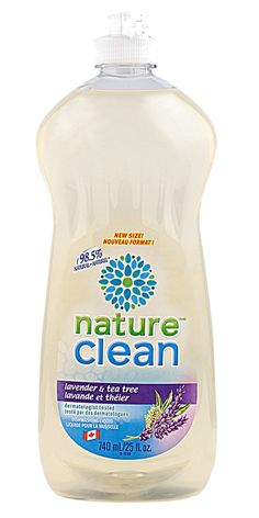 Nature Clean Dishwashing Liquid - Don't let doing the dishes stress you, the calming properties of lavender essential oils will Cleaning Companies, Cleaning Agent, Dishwasher Detergent, Clean Dishwasher, Tea Tree Essential Oil, Essential Oils, Label Design, Packaging Design, Logo Design