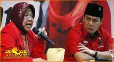 Nasib Tri Rismaharini Sebagai Pegawai Partai Di Tangan Mega | Tangkas Uang Asli