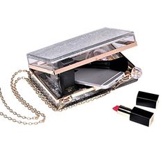 Transparent Clutch, Silver Prices, Small Wallet, Party Bags, Cross Body, Sequins, Free Shipping, Purses, Chain