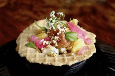 chicken and waffle--Scratch review by Jonathan Gold