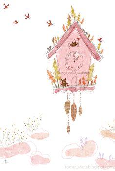tomoto: Cuckoo Clock House
