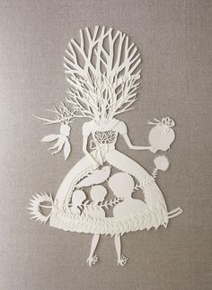 "------- [artwork: ""cycle of the tree"" by elsa mora scherenschnitte: german paper cutting art] Kirigami, Paper Cutting, Cut Paper, Art And Illustration, Art Design, Paper Design, Papercut Art, Frida Art, Arts And Crafts"