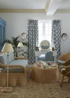 Soane Britain's Rattan Lily Sofa in the Camelot Suite, Cobblers Cove Hotel, Barbados Barbados, Furniture Making, Porches, Rattan, Britain, Upholstery, Lily, Sofa, Interior