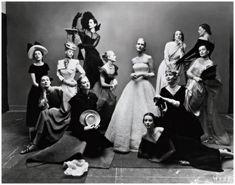 Irving Penn, Dwanaście piękności, 1947 © The Irving Penn Foundation