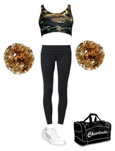 Hanna Masterson's Cheer Practice Outfit by elizabethcooke on Polyvore featuring polyvore fashion style Casall Asics
