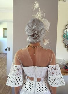 Races Hairstyles with Fascinators  23aea7b47d3
