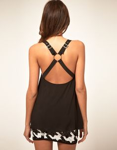ASOS Cami With Harness Back