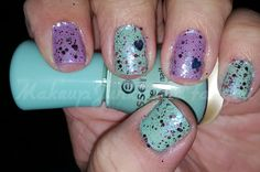Makeup Junkie and Fangirl: Play With My Mint, Tempest and Love Bombs Mani