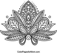Paisley 24 Coloring Page                                                                                                                                                      More