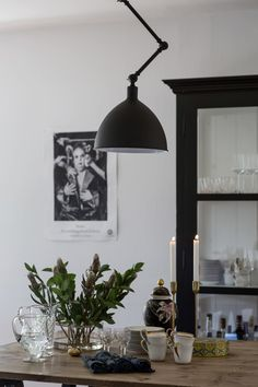 By Rydéns Bazar Hängeleuchte sandschwarz Hanging Lights, Wall Lights, Ceiling Lights, Desk Light, Lamp Light, Antler Lamp, Touch Lamp, Latest Wallpapers, Bedside Table Lamps