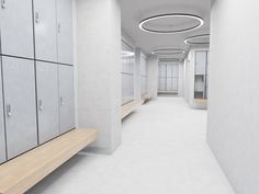 Phenolic lockers, hpl lockers, lockers for wet area — ATEPAA® Gym Interior, Office Interior Design, Office Interiors, Used Lockers, Gym Lockers, Pool Changing Rooms, Locker Designs, Baby Spa, Restroom Design
