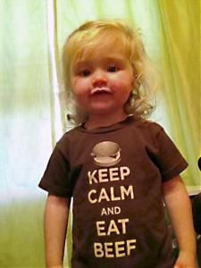 Keep Calm and Eat Beef T's  www.txcattlewomen.org
