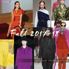 The hottest colour trends for A/W 17/18