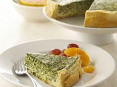 Reteta culinara Tarta cu spanac si sunca din Carte de bucate, Aperitive. Specific Romania. Cum sa faci Tarta cu spanac si sunca