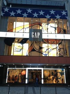 LK By Lincoln Keung: GAP HK Visual Merchandising in Hong Kong