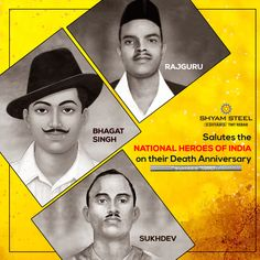 Remembering the young freedom fighters who gave up their lives in the service to their nation. Bhagat Singh Wallpapers, Indian Flag Images, Indian Freedom Fighters, Hacker Wallpaper, Abdul Kalam, Vintage India, Pencil Art Drawings, Real Hero