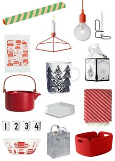 Christmas presents by Finnish design shop