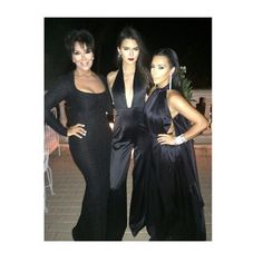 Pin for Later: Kim Kardashian and Kanye West Party With Too Many Stars to Count  Source: Instagram user kimkardashian