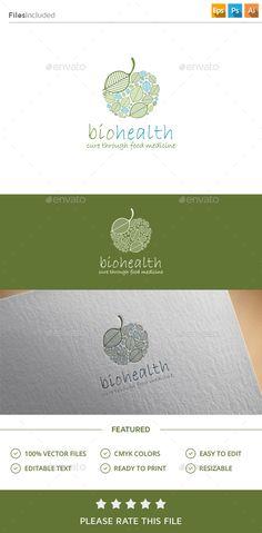 Bio Health Logo | GraphicRiver