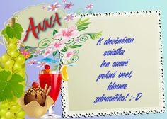 Anna K dnešnému sviatku len samé pekné veci, hlavne zdravíčko! Tableware, Dinnerware, Dishes, Place Settings, Porcelain