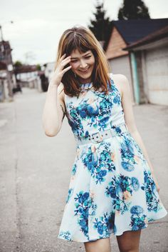 Darling Gabrielle Flared Dress