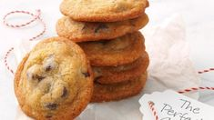 Or crispy ones? How about chewy? We show you how to make the perfect chocolate chip cookies according to your taste. The post How to Make the Perfect Chocolate Chip Cookie appeared first on Taste of Home. Buttery Chocolate Chip Cookies, Chocolate Biscuits, Chocolate Chip Cookie Dough, Chocolate Chocolate, Sandwich Cookies, Bar Cookies, Malted Milk, Perfect Cookie, Manualidades