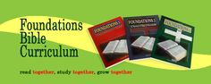 Free Chronological Bible Curriculum- Foundations Bible Curriculum
