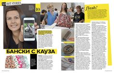 Rebel Swim in Grazia Bulgaria magazine! Premium men's swim shorts designed with passion and a purpose! www.rebelswim.com
