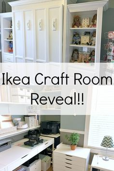 Super sewing room ikea small spaces craft storage ideas - Image 16 of 20 Ikea Craft Room, Small Craft Rooms, Craft Room Decor, Cricut Craft Room, Craft Room Storage, Storage Spaces, Craft Organization, Paper Storage, Storage Ideas