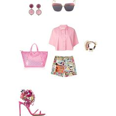 #SoHollywood by atlienfashioned on Polyvore featuring polyvore, fashion, style, Golden Goose, Moschino, Casadei, Marc Jacobs, Rina Limor and Christian Dior