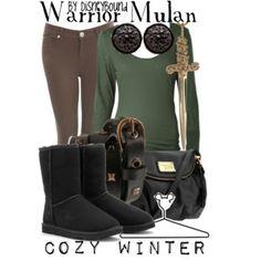 Warrior Mulan