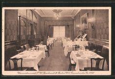 """Alte Ansichtskarte: AK Berlin, Gasthaus-Weinrestaurant """"Borchardt"""", Französische Straße 47/48"""
