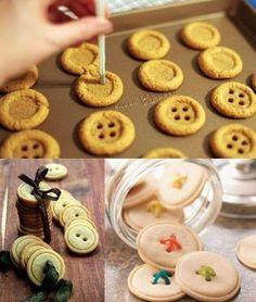 Biscoitos de gengibre.