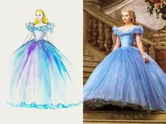 """""""It's always scary when [you're designing] the dress that everybody's expecting,"""" 'Cinderella' costume designer Sandy Powell told PEOPLE"""