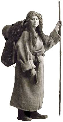 Alexandra David-Néel (1868-1969) -Explorer of the then forbidden Tibet (1924) and Sikkim (1911-1916), mountinerring in the Himalaya,writer, 1st woman Buddhist in France, influencer of Jack Kerouac, Allan Ginsberg and Alan Watts.